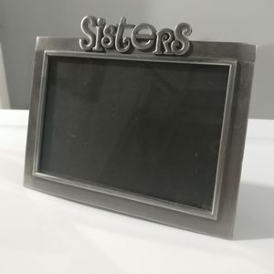 Sisters Metal 4x6 Photo Frame With Easel Back